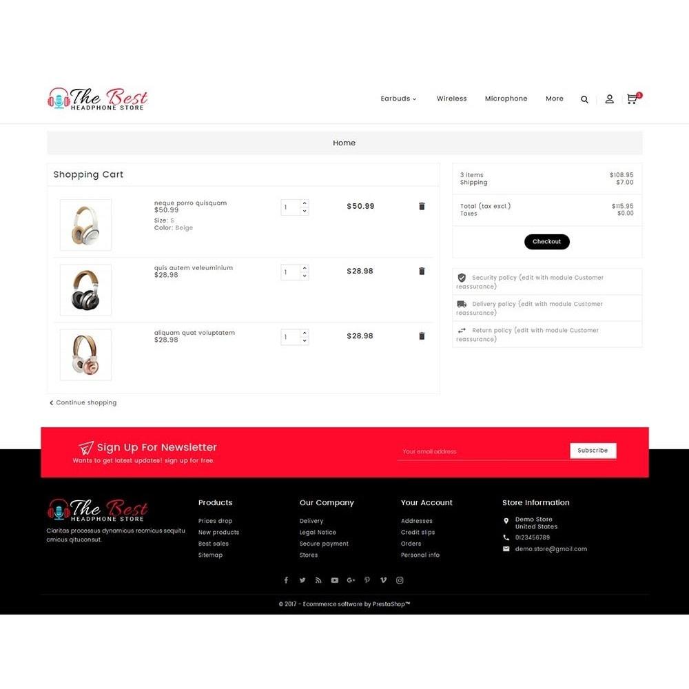 theme - Elektronik & High Tech - Headphone Store - 7