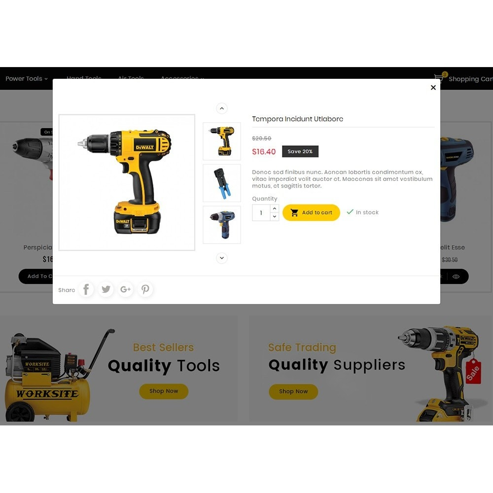 theme - Electronique & High Tech - Handy Tools Store - 9