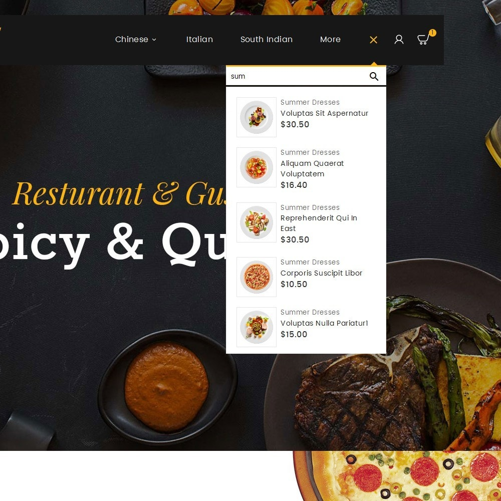 theme - Alimentation & Restauration - Gusto Food - 11