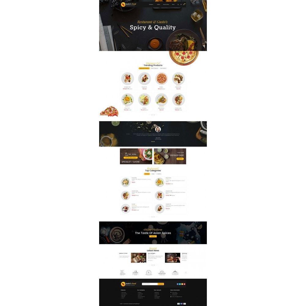 theme - Gastronomía y Restauración - Gusto Food - 3