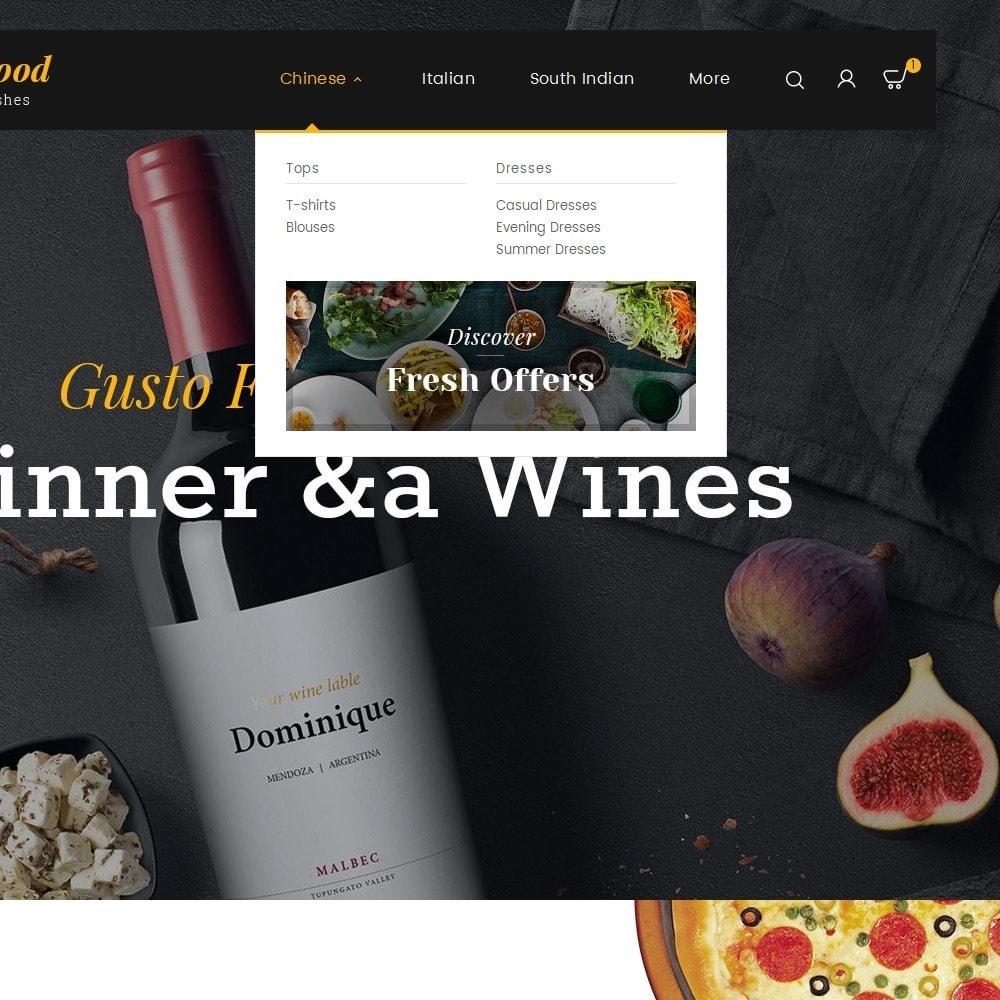 theme - Gastronomía y Restauración - Gusto Food - 10