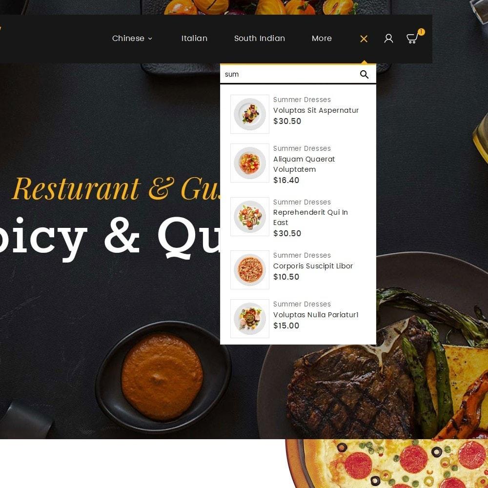 theme - Gastronomía y Restauración - Gusto Food - 11