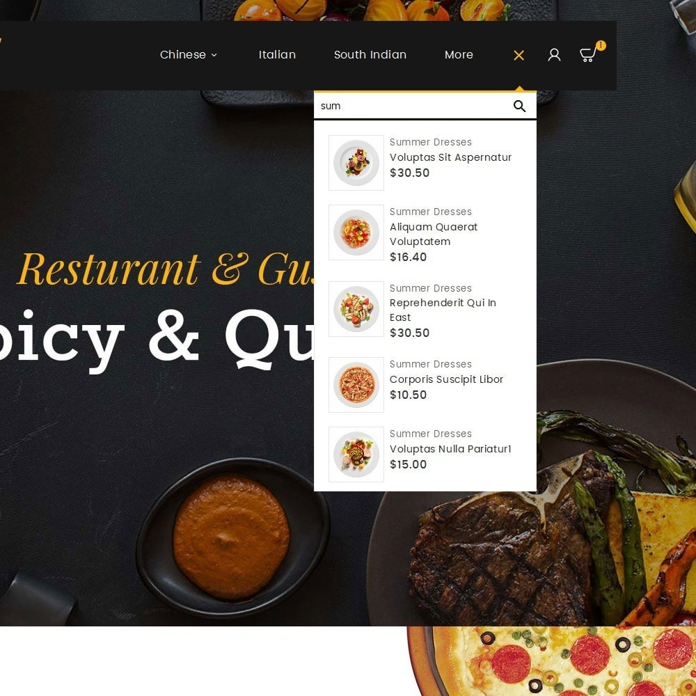 theme - Cibo & Ristorazione - Gusto Food - 10