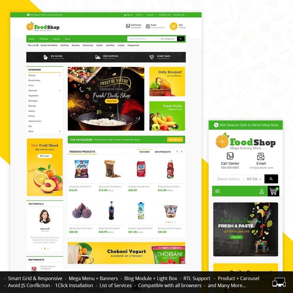 theme - Gastronomía y Restauración - Grocery Food Mega Store - 2