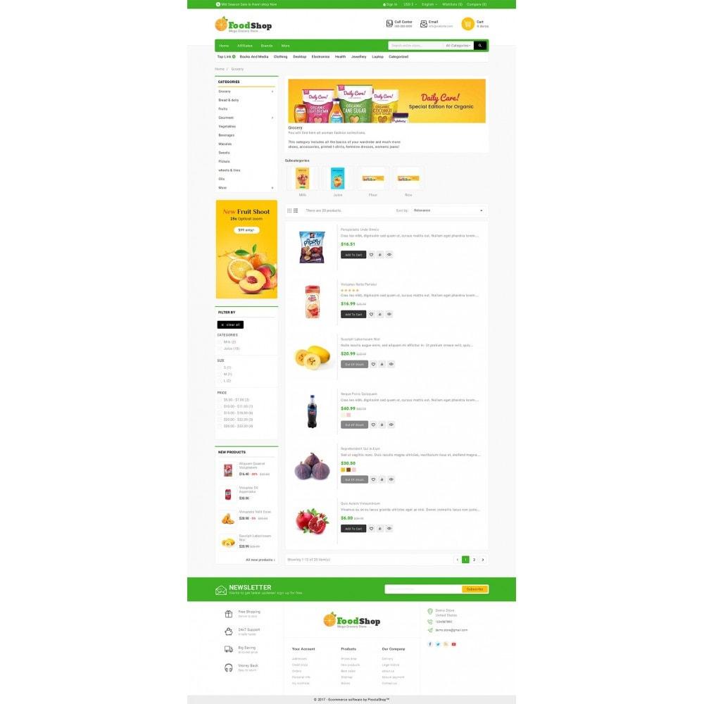 theme - Cibo & Ristorazione - Grocery Food Mega Store - 4