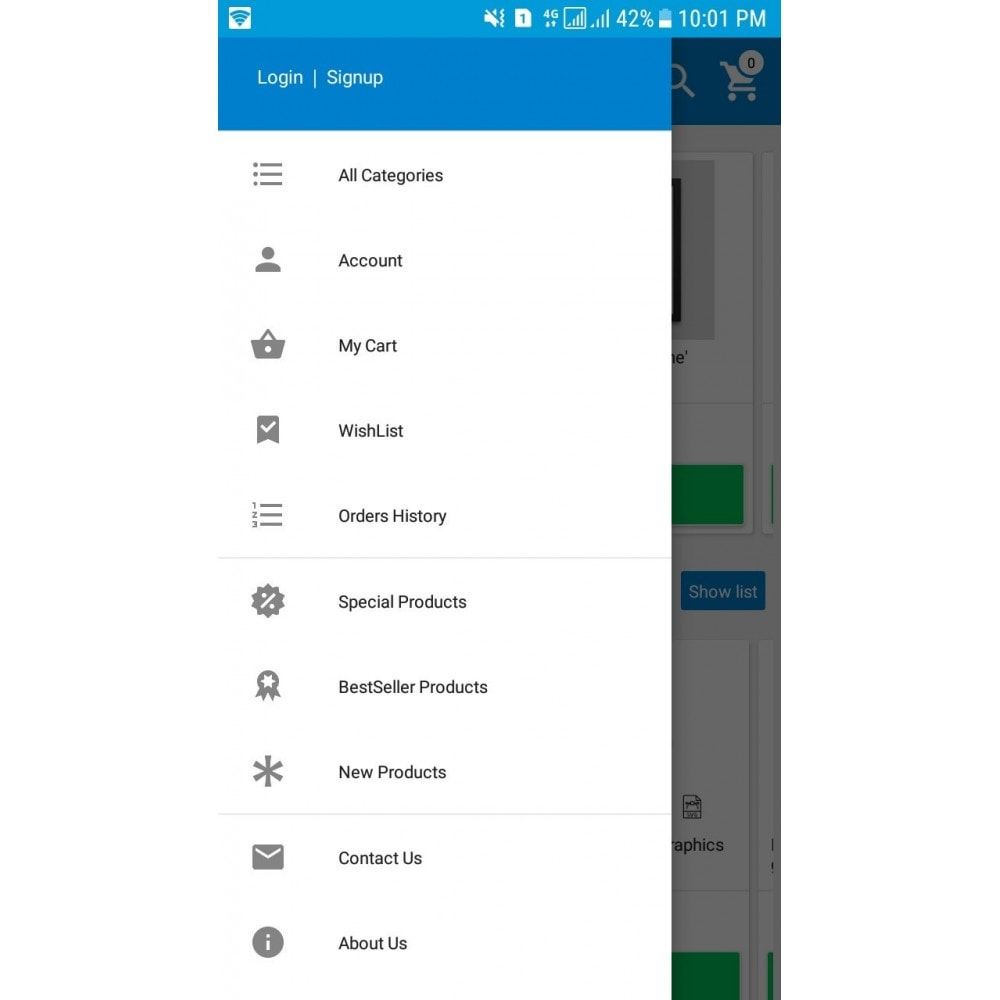 module - Mobile - PrestaDroid Android Mobile Application Builder - 6