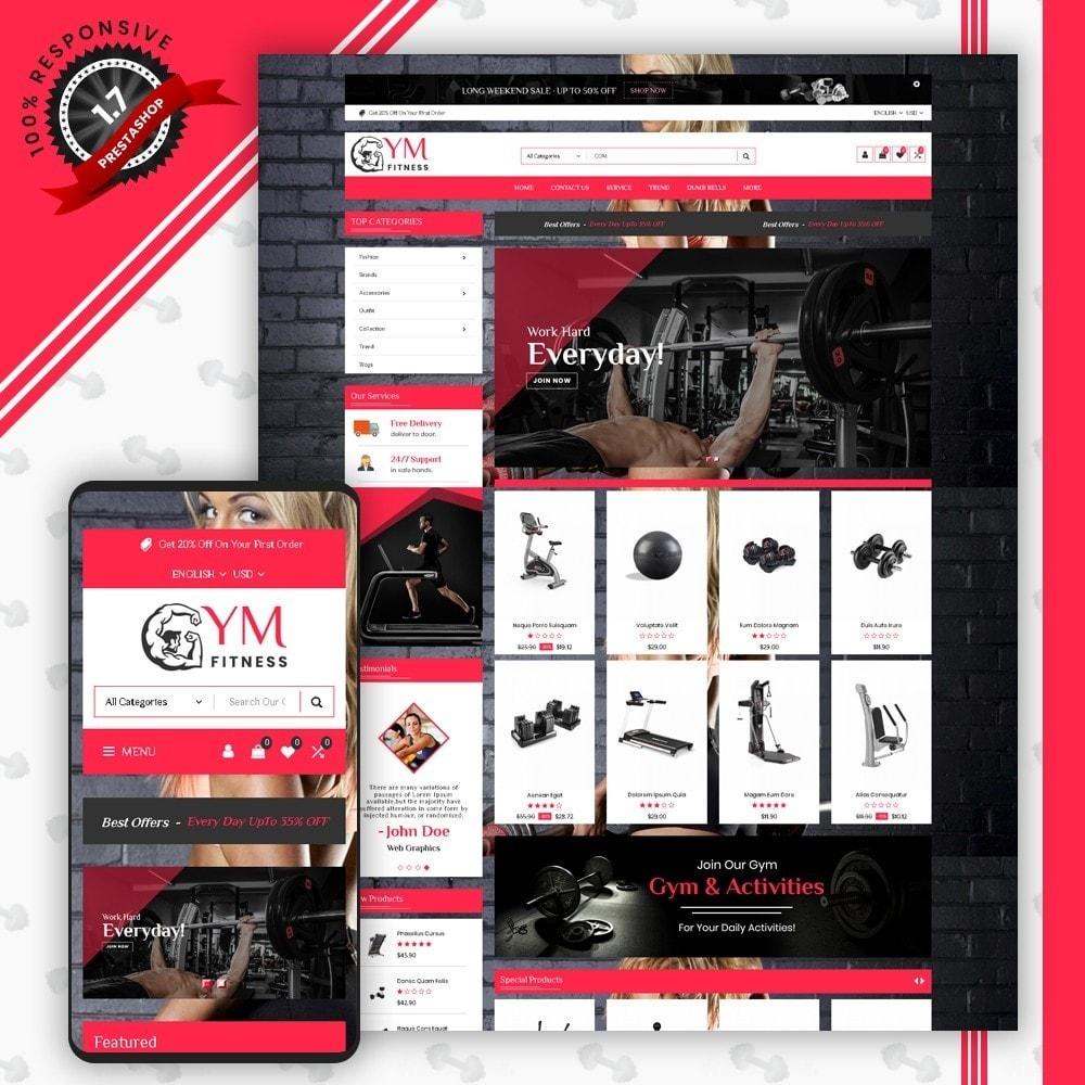 theme - Sport, Aktivitäten & Reise - Mega Gym Shop - 1