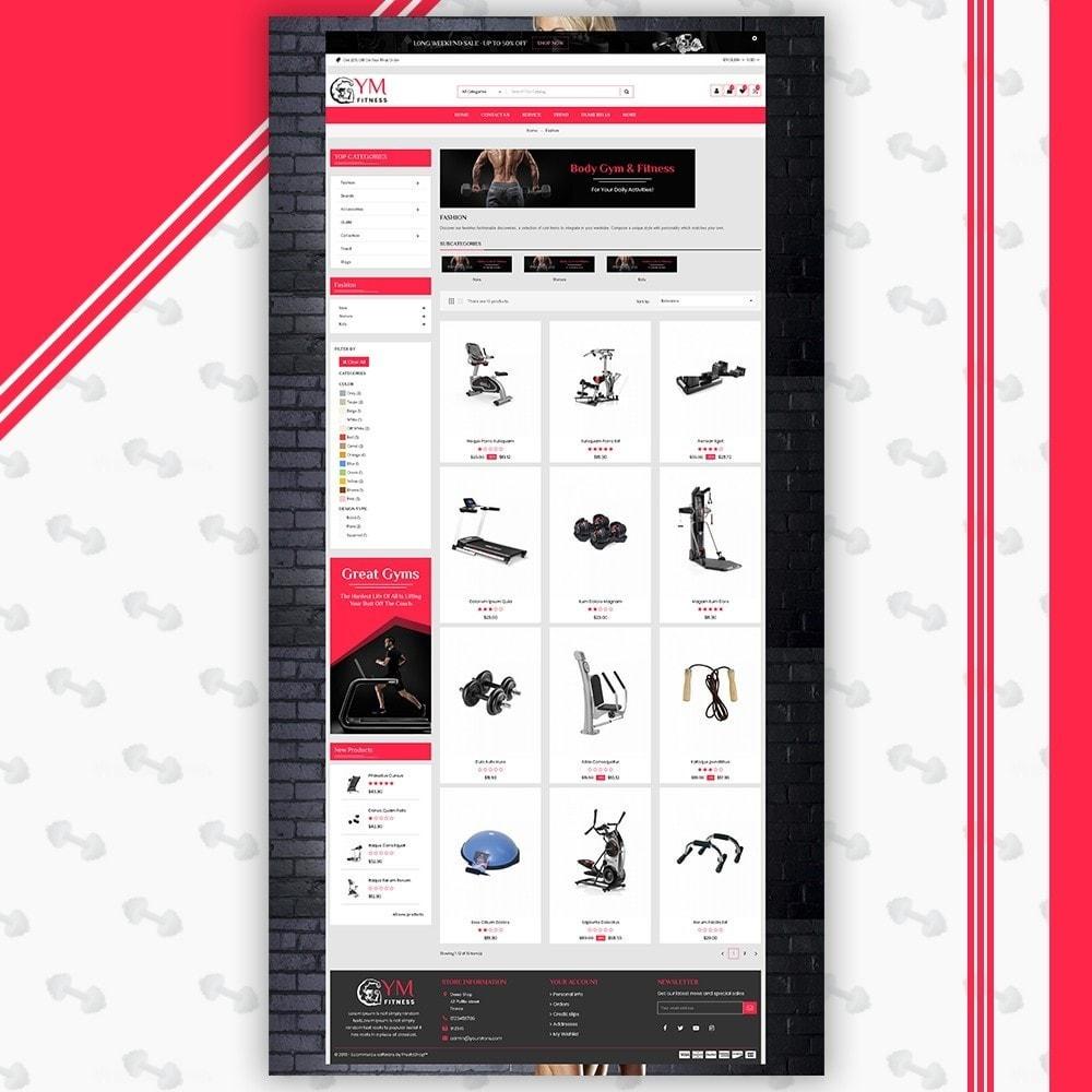 theme - Sport, Aktivitäten & Reise - Mega Gym Shop - 3