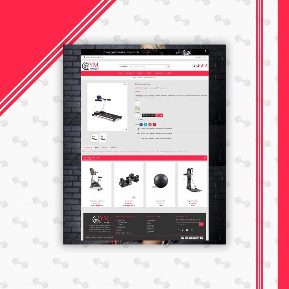 theme - Sport, Aktivitäten & Reise - Mega Gym Shop - 6