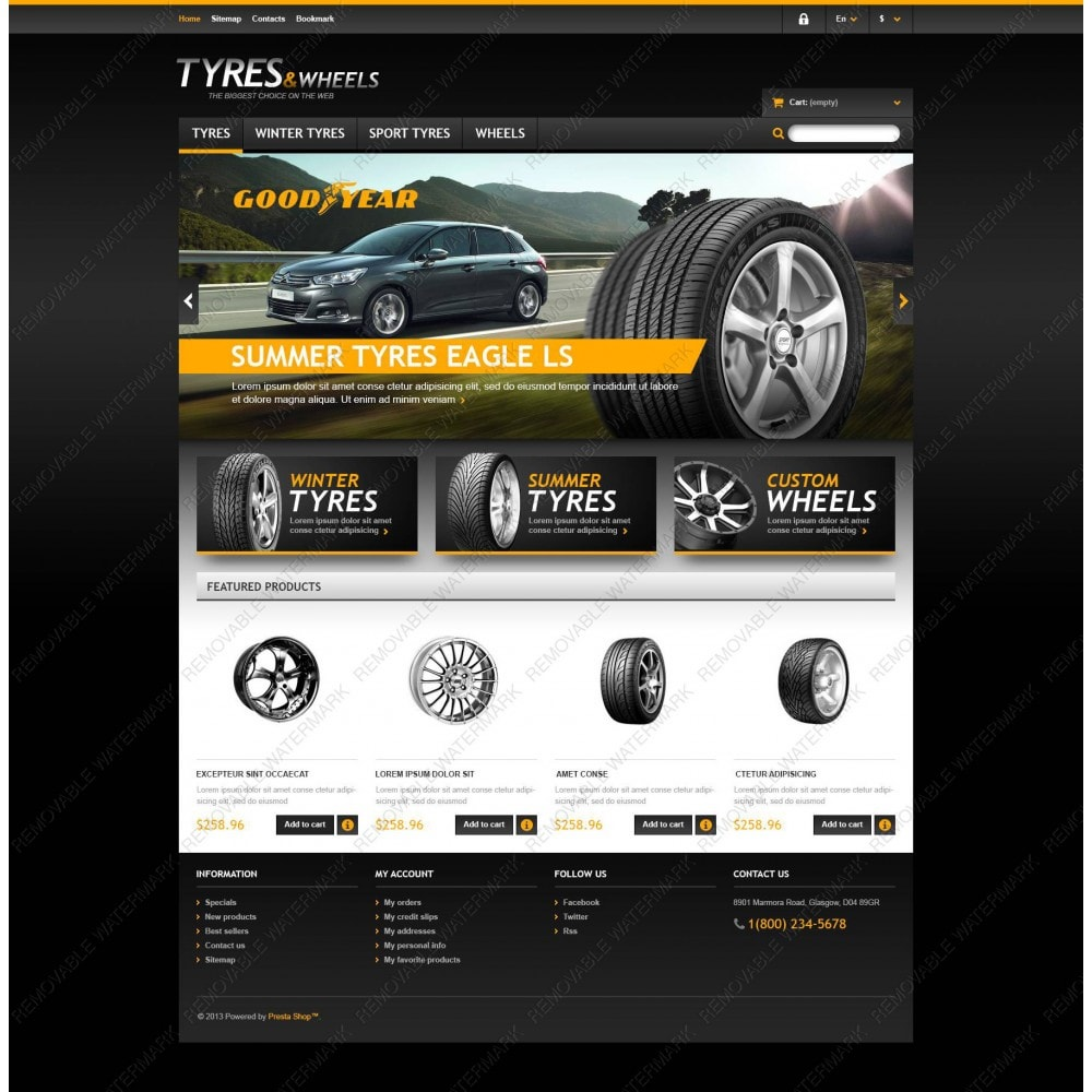 theme - Automotive & Cars - Tyres & Wheels Store - 3