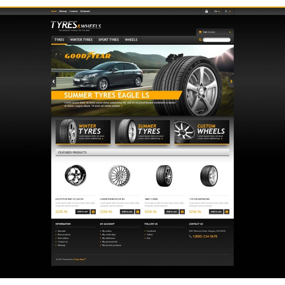 theme - Automotive & Cars - Tyres & Wheels Store - 4