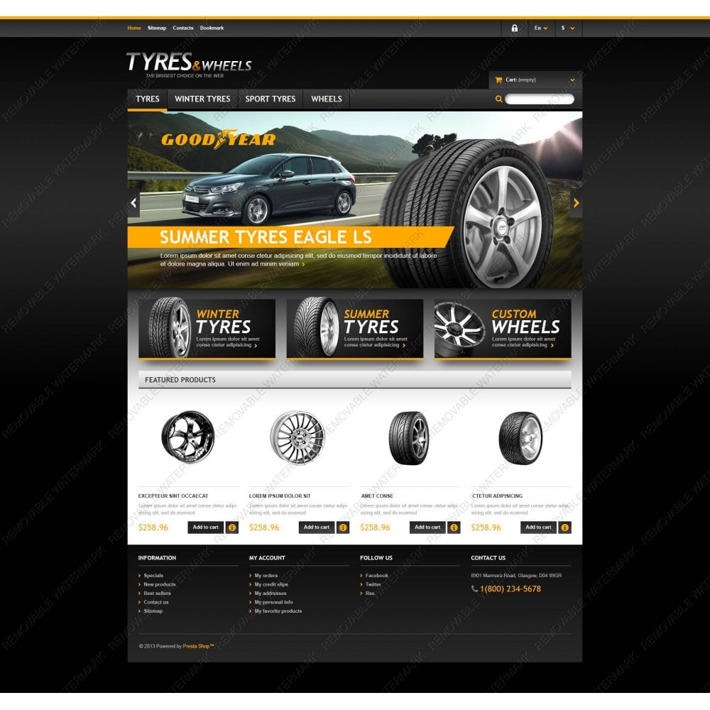 theme - Automotive & Cars - Tyres & Wheels Store - 5