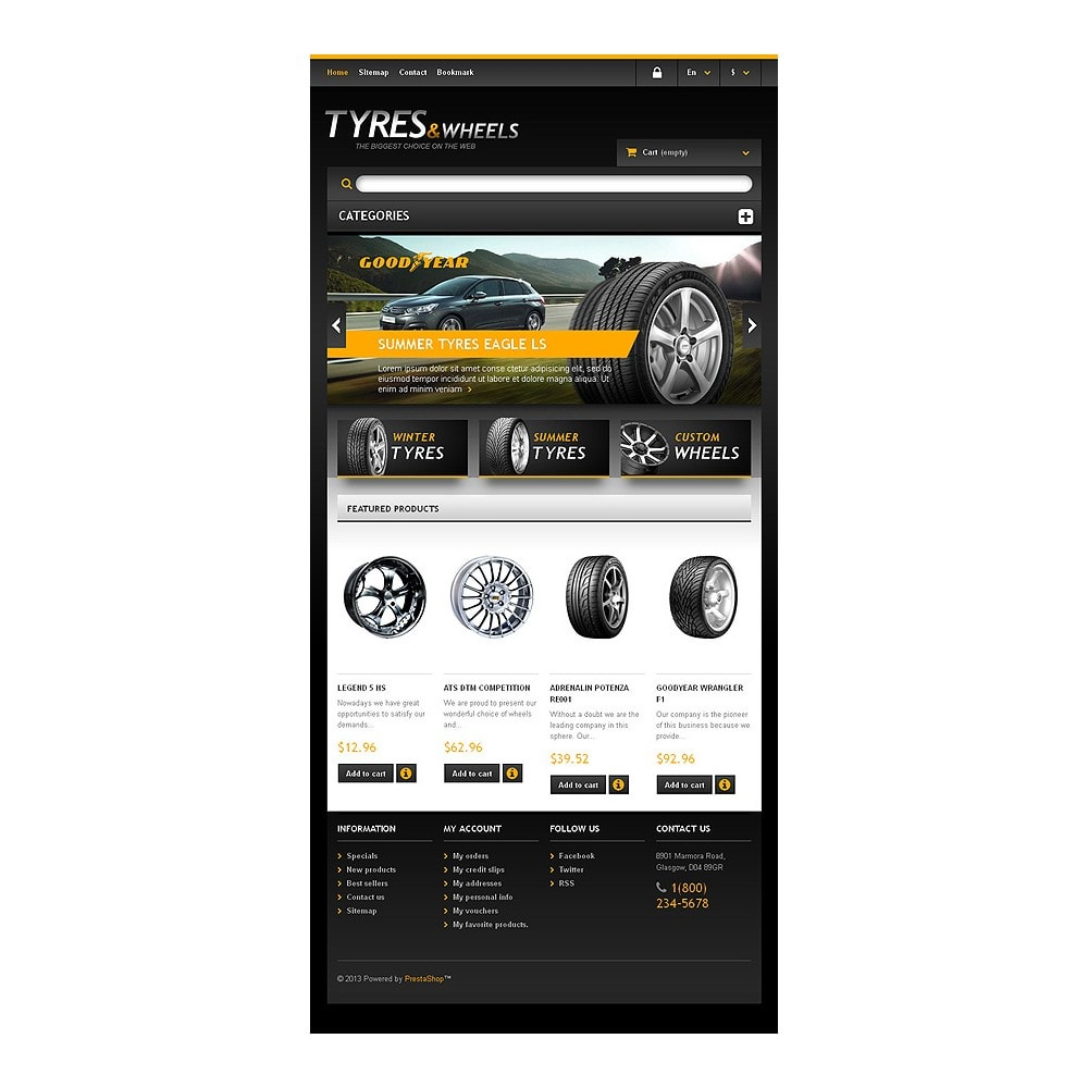 theme - Automotive & Cars - Tyres & Wheels Store - 7
