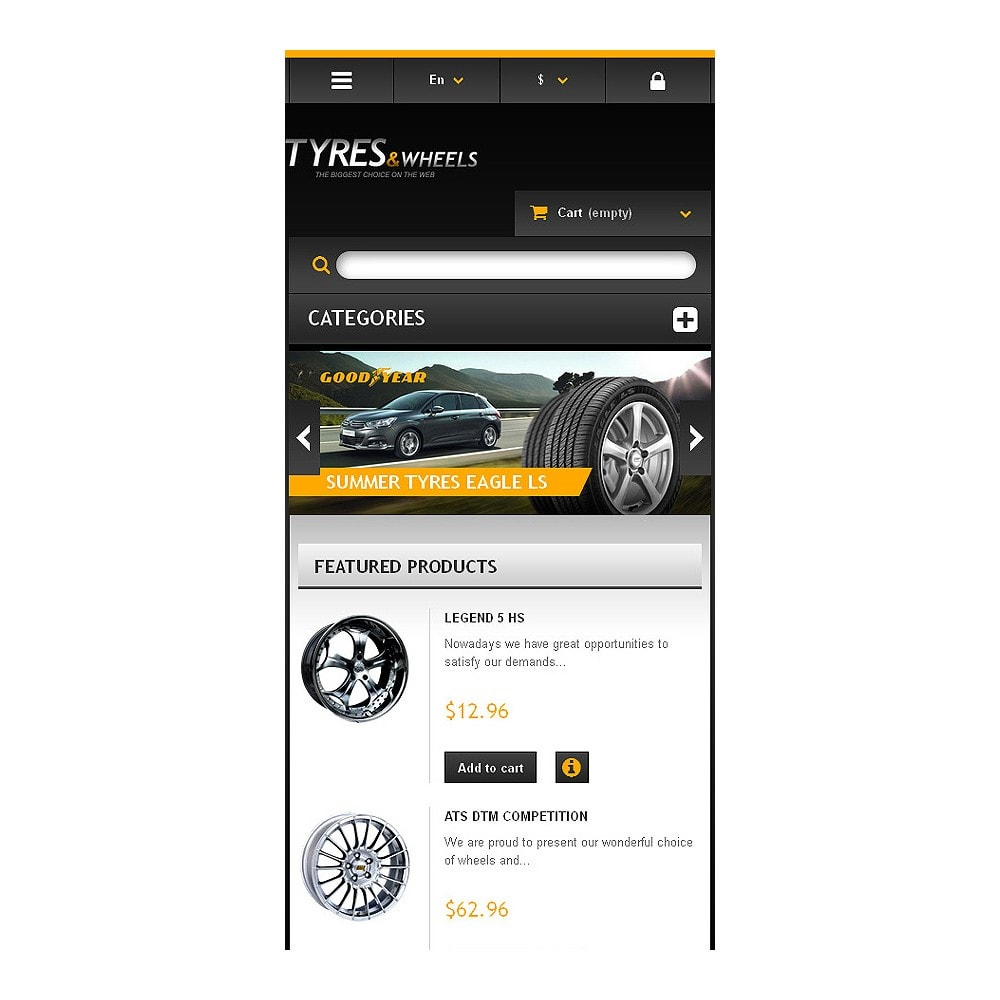 theme - Automotive & Cars - Tyres & Wheels Store - 8