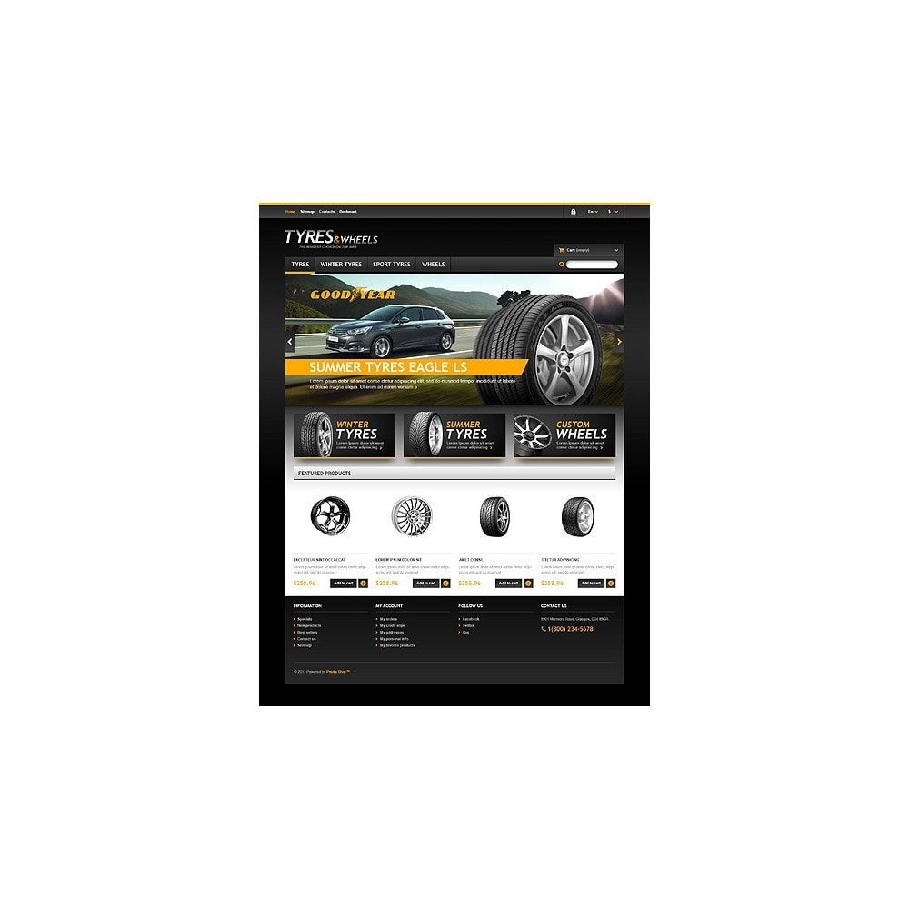 theme - Automotive & Cars - Tyres & Wheels Store - 10