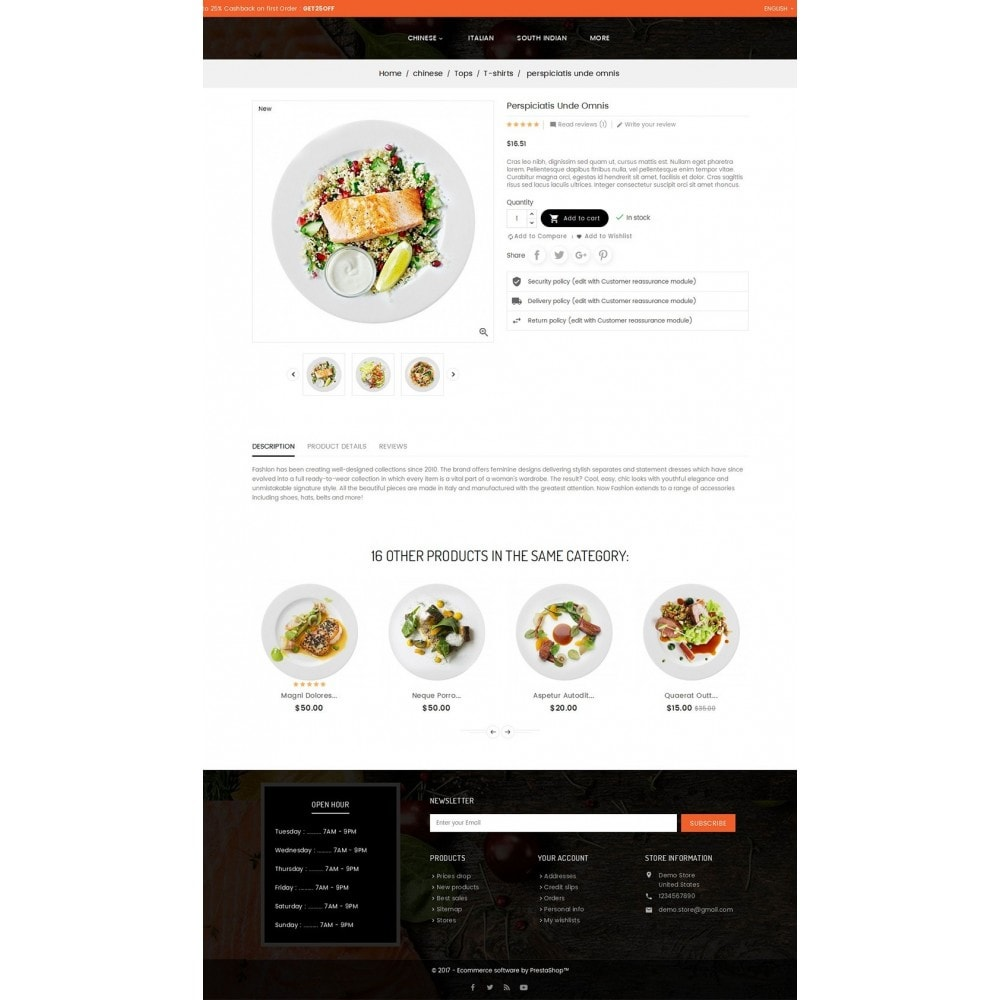 theme - Alimentation & Restauration - Good Gusto Food - 6