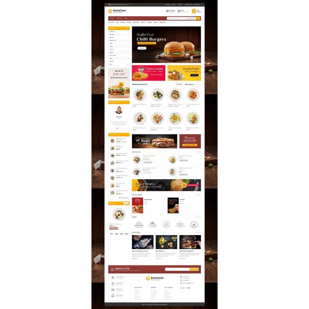 theme - Gastronomía y Restauración - Fast Foods Mega Store - 3
