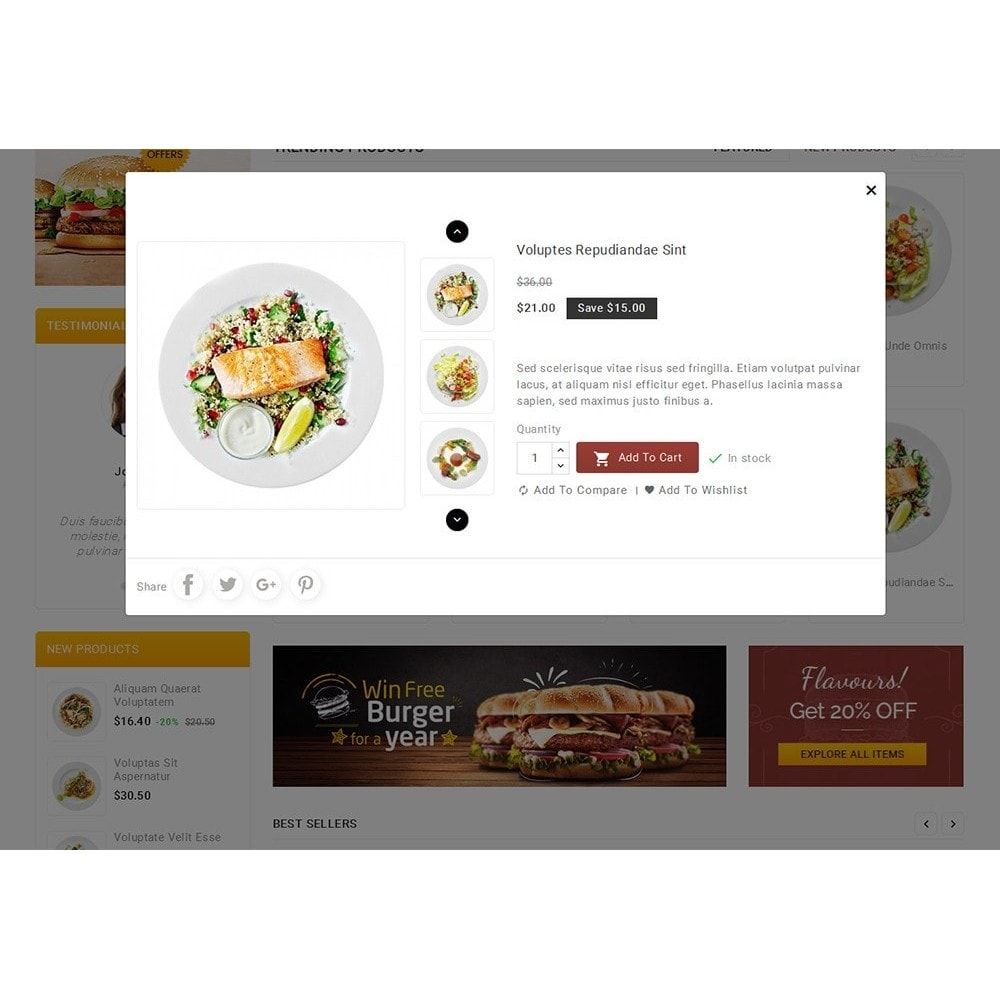 theme - Lebensmittel & Restaurants - Fast Foods Mega Store - 9