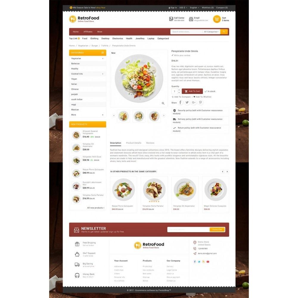 theme - Cibo & Ristorazione - Fast Foods Mega Store - 6