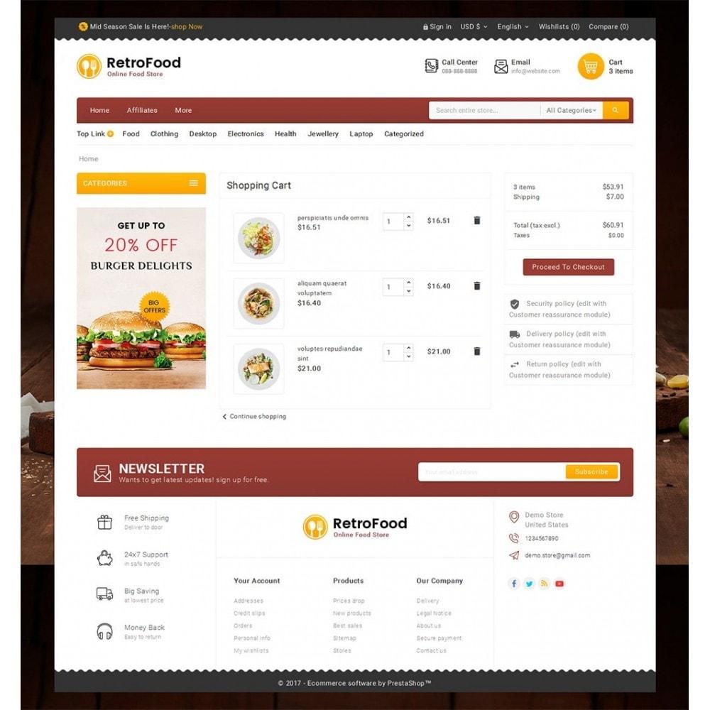 theme - Cibo & Ristorazione - Fast Foods Mega Store - 7