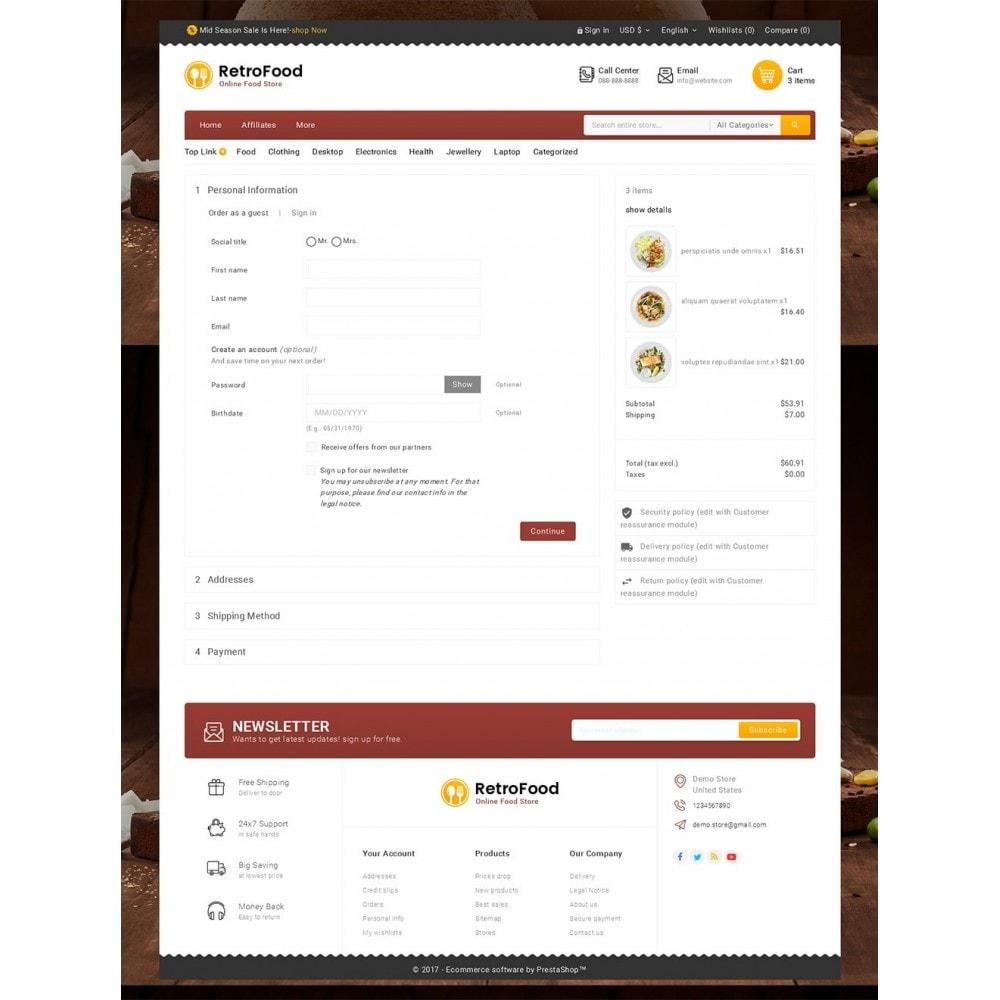 theme - Cibo & Ristorazione - Fast Foods Mega Store - 8