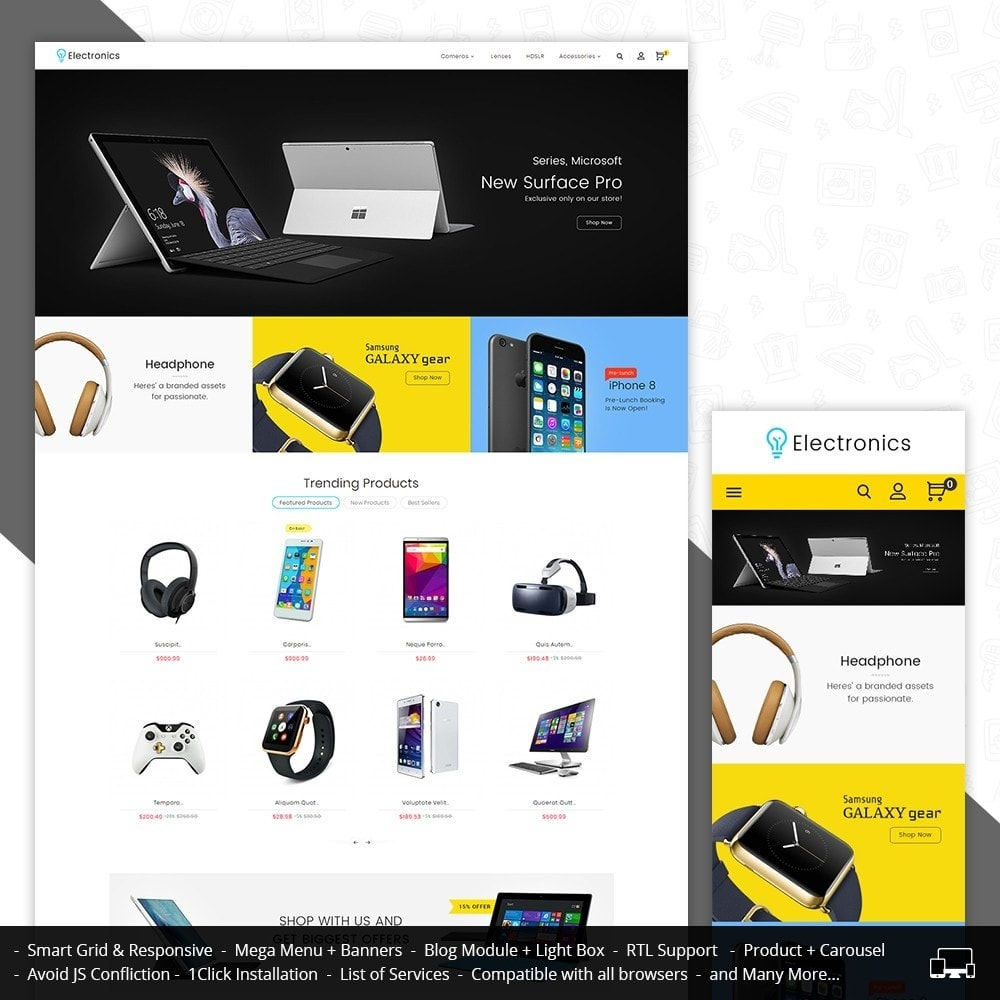 theme - Elettronica & High Tech - Electronics Store - 2