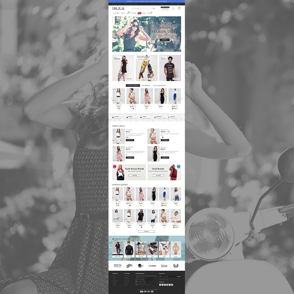 theme - Fashion & Shoes - IMPA - Fashion & Freedom - Infinity Display - 2