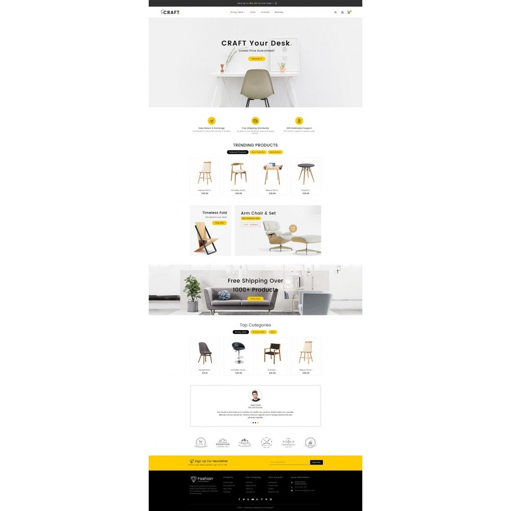 theme - Hogar y Jardín - Craft Furniture Store - 3