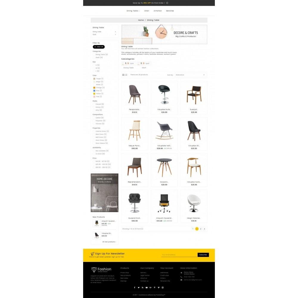 theme - Heim & Garten - Craft Furniture Store - 4