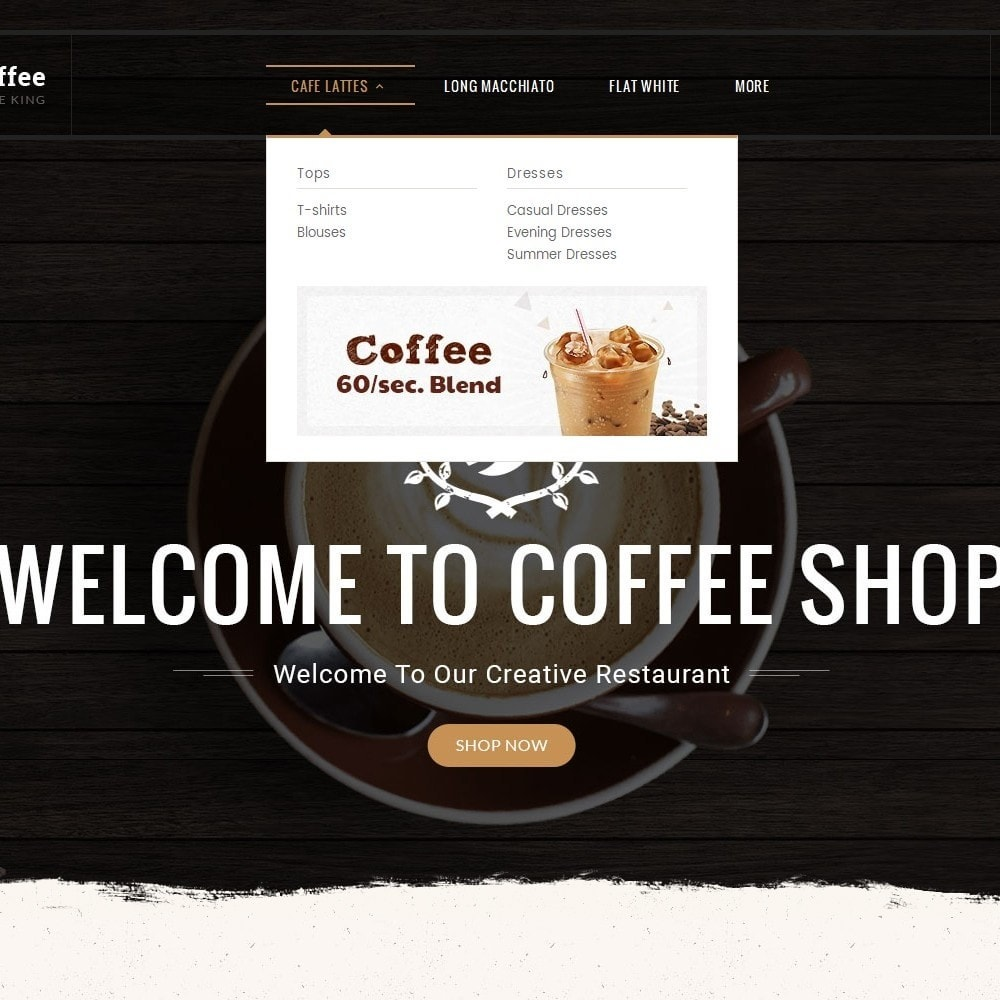 theme - Bebidas y Tabaco - Coffee Cafe Kings - 10