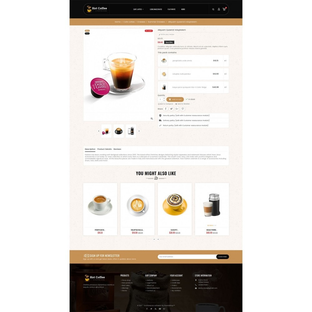 theme - Drink & Wine - Coffee Cafe Kings - 6