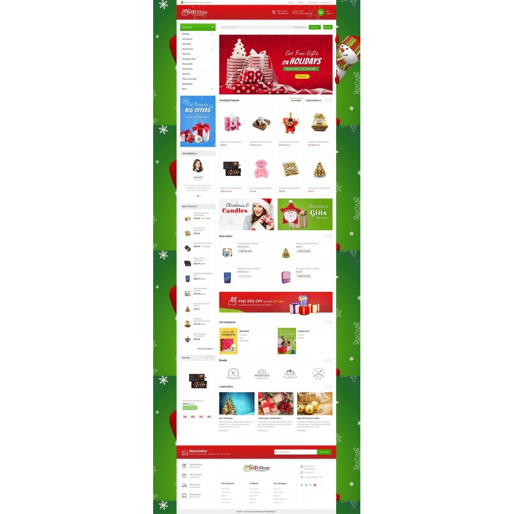 theme - Regali, Fiori & Feste - Christmas Gift Mega Store - 3