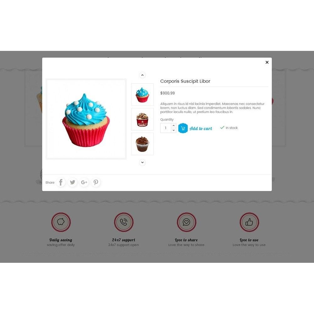 theme - Alimentation & Restauration - Cake Shop - 9