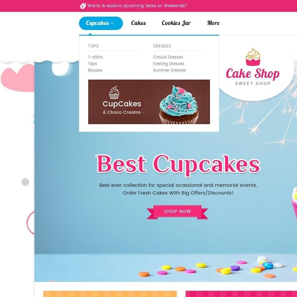theme - Gastronomía y Restauración - Cake Shop - 10