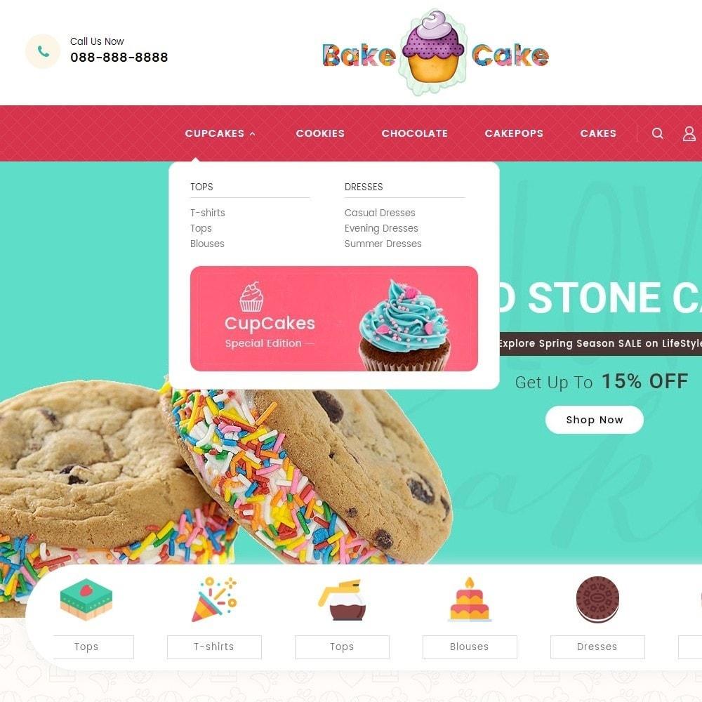 theme - Alimentation & Restauration - Cake Shop - 11