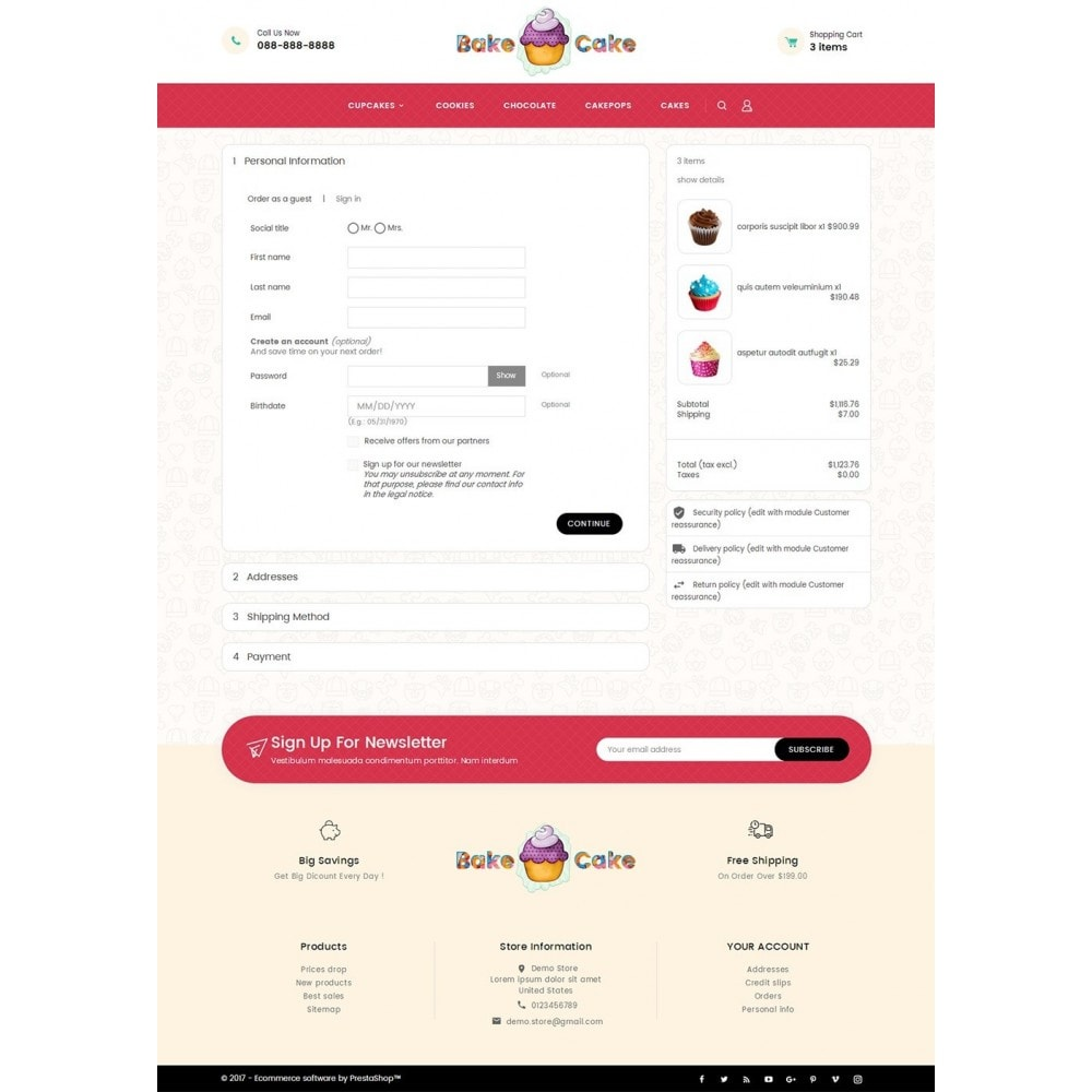 theme - Lebensmittel & Restaurants - Cake Shop - 8