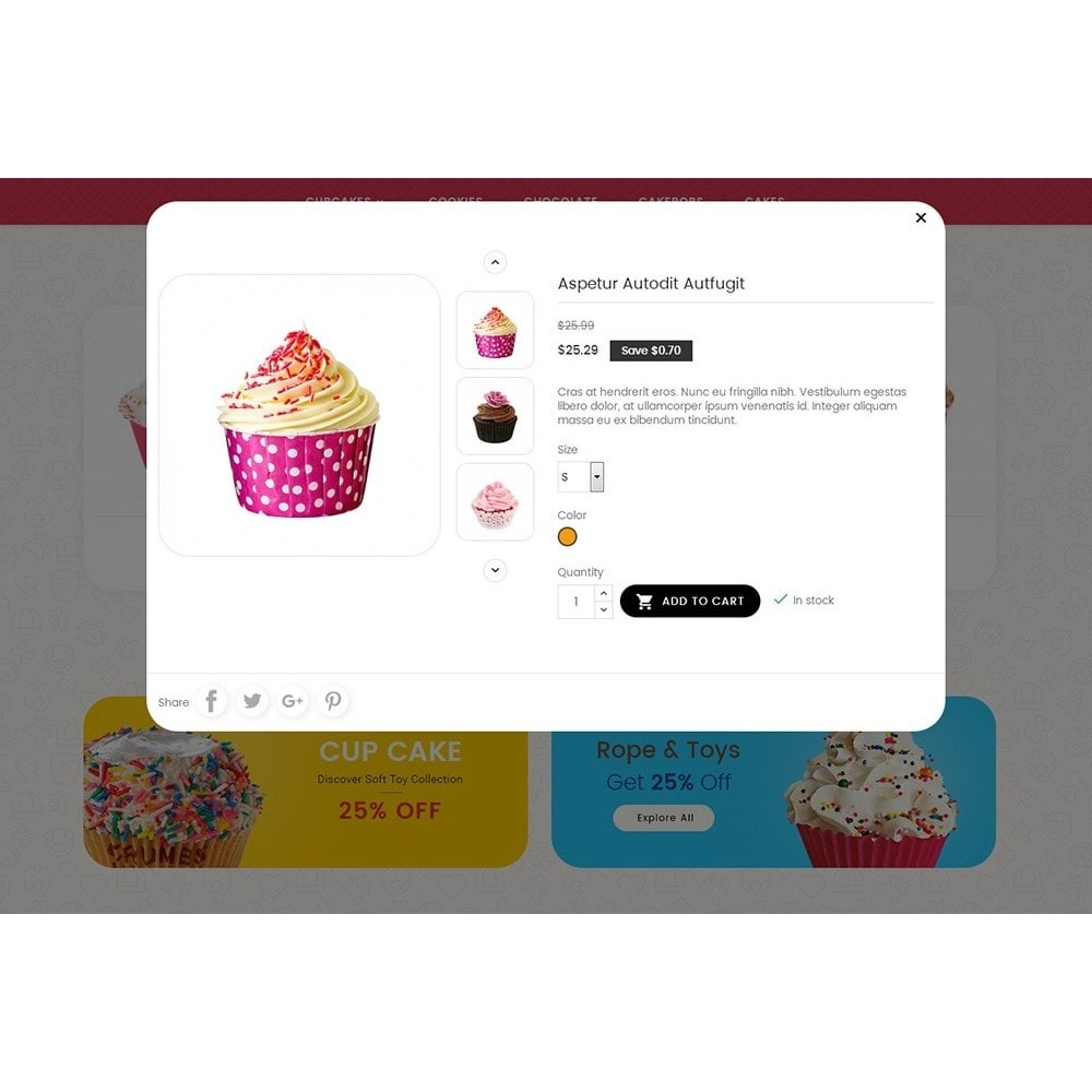 theme - Lebensmittel & Restaurants - Cake Shop - 9