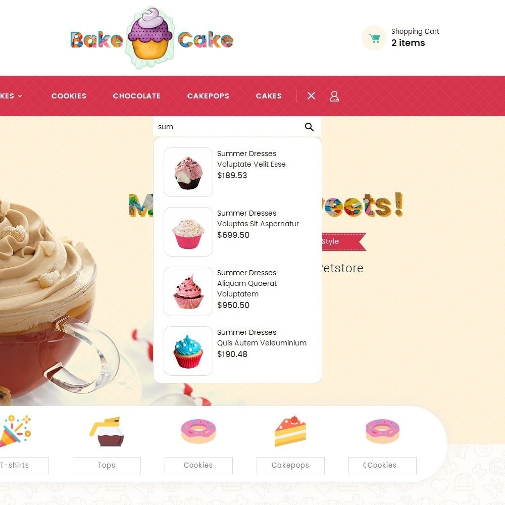 theme - Lebensmittel & Restaurants - Cake Shop - 10