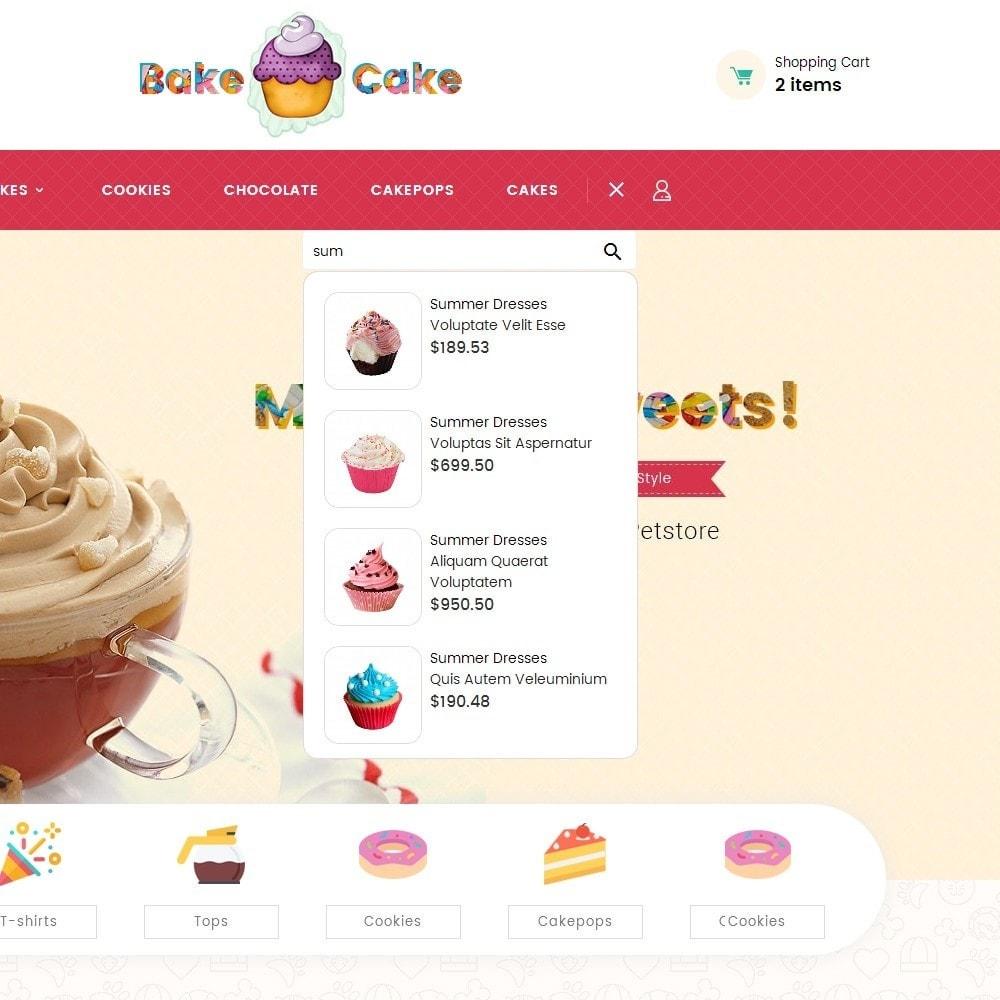 theme - Cibo & Ristorazione - Cake Shop - 11