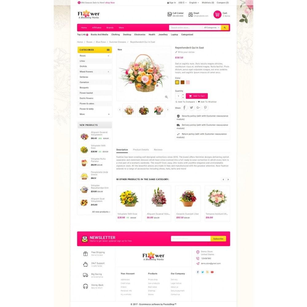 theme - Cadeaux, Fleurs et Fêtes - Blooming Flower Mega Store - 6