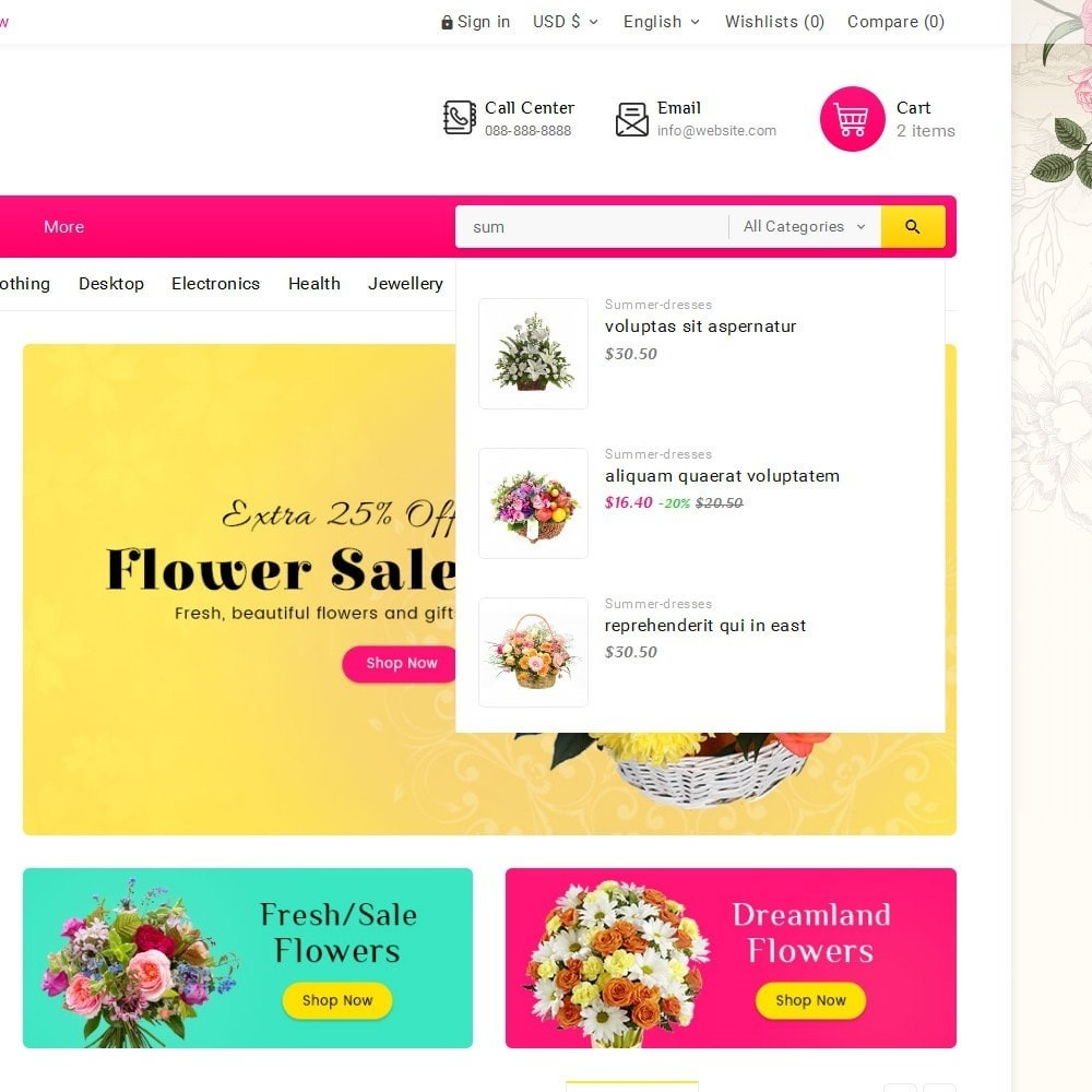 theme - Regali, Fiori & Feste - Blooming Flower Mega Store - 11