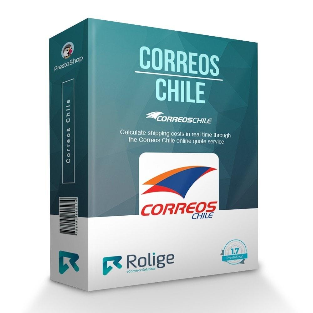 module - Custo de frete - Correos Chile - 1