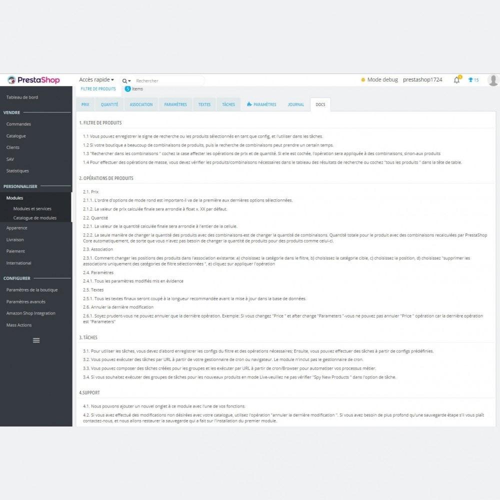 module - Edition rapide & Edition de masse - Mass Modifier les Paramètres des Produits + Tâches - 8