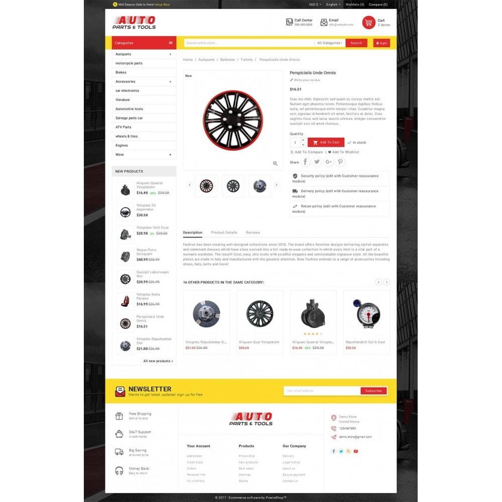 theme - Coches y Motos - Auto Parts Mega Store - 6