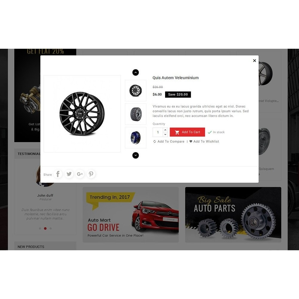 theme - Auto & Moto - Auto Parts Mega Store - 9
