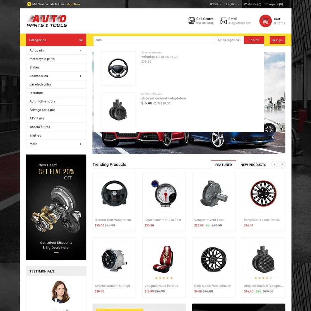 theme - Autos & Motorräder - Auto Parts Mega Store - 11