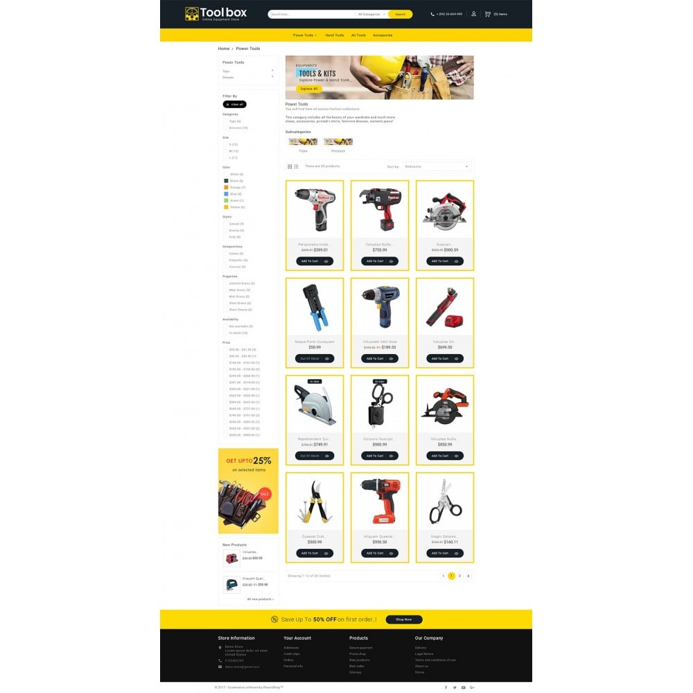 theme - Coches y Motos - Tools Store - 4