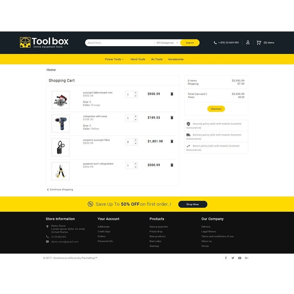 theme - Coches y Motos - Tools Store - 7