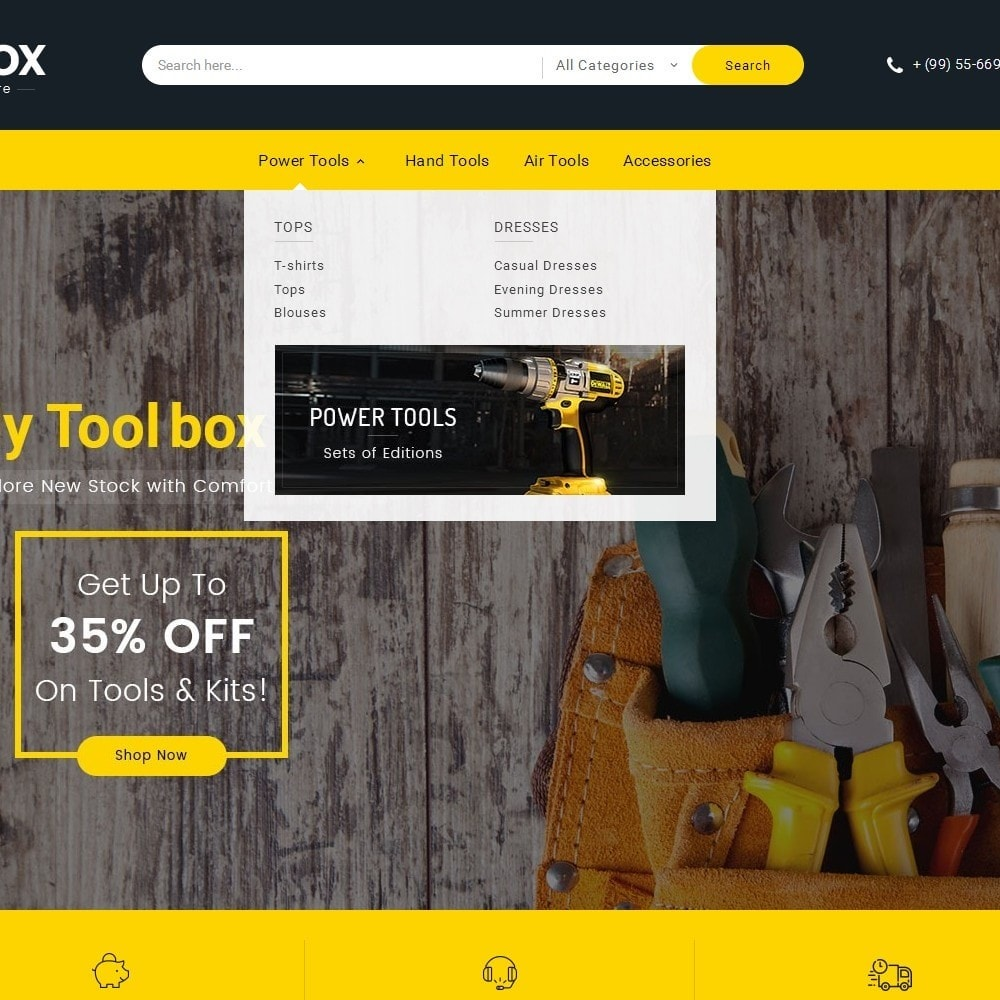 theme - Coches y Motos - Tools Store - 10