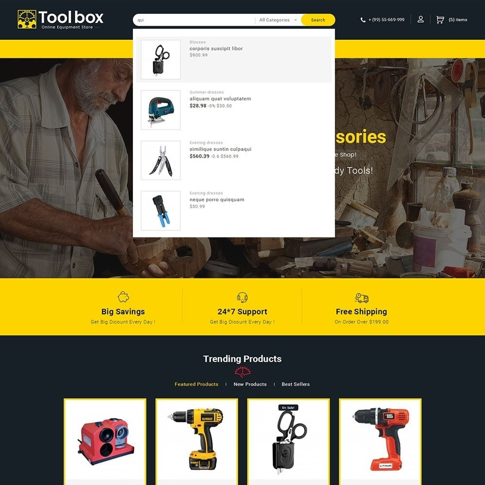 theme - Coches y Motos - Tools Store - 11